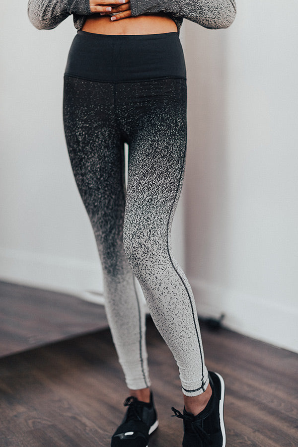 Ready, Steady, Chic High Waist Active Legging