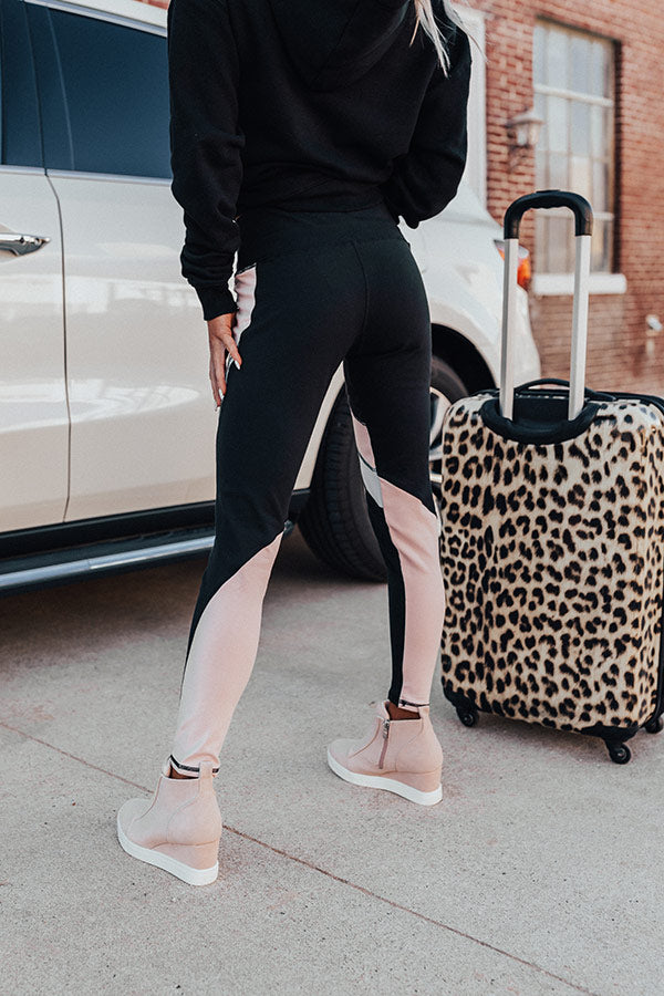 Spin And Spritzers High Waist Active Legging