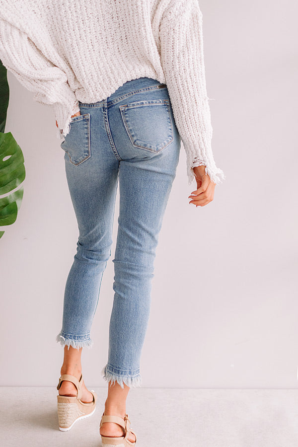 The Lela High Waist Relaxed Ankle Skinny