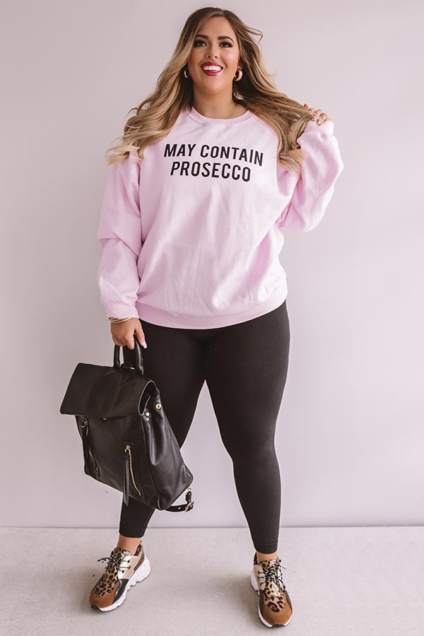 May Contain Prosecco Sweatshirt