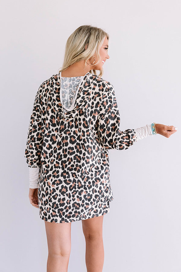 Story Time Leopard Hoodie
