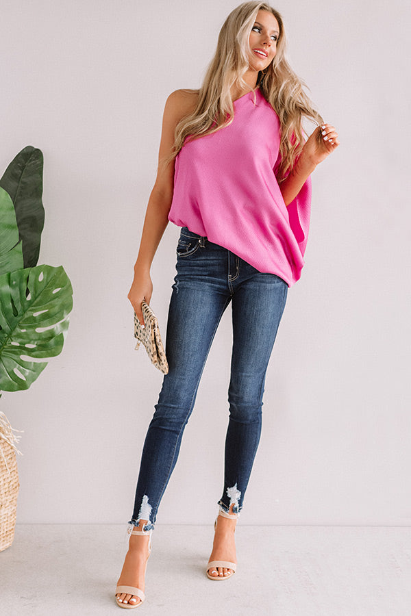Better With Brunch Top In Pink