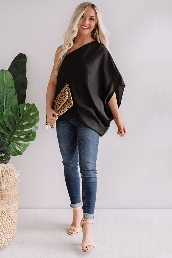 Better With Brunch Top In Black