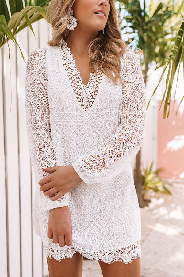All About The Details Lace Dress