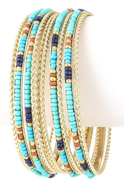 Brightest Days Ahead Bracelets in Turquoise