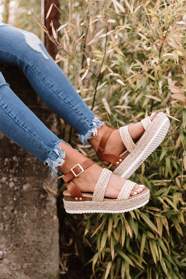 The Lela Espadrille In Tan