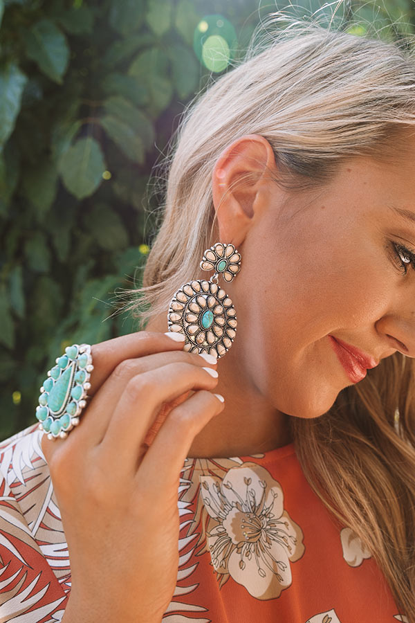 Southern Sweetheart Earrings In Ivory