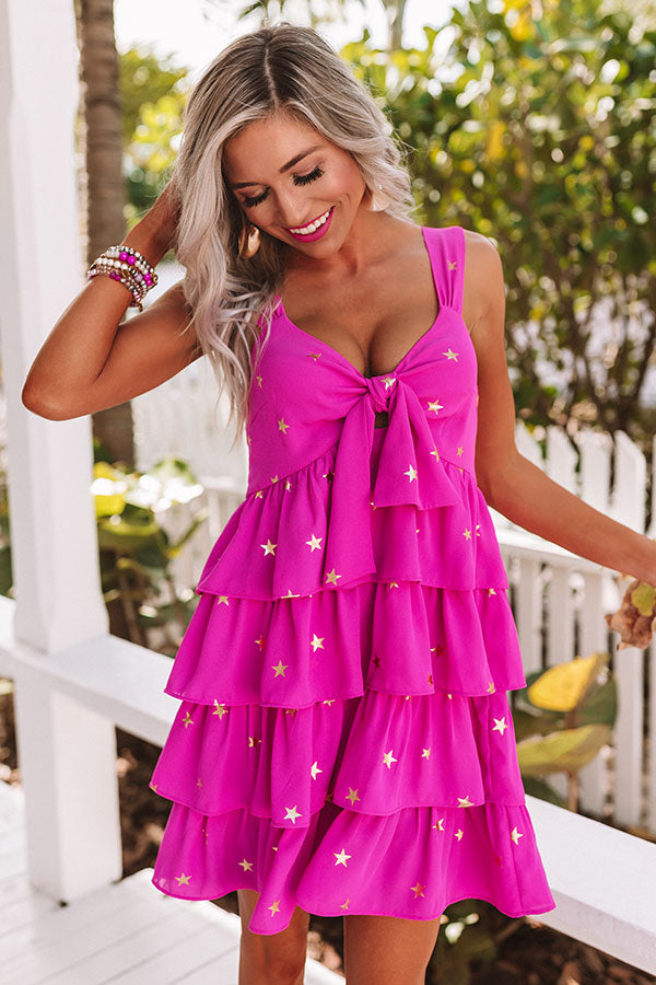 Shine Bright Tiered Babydoll Dress