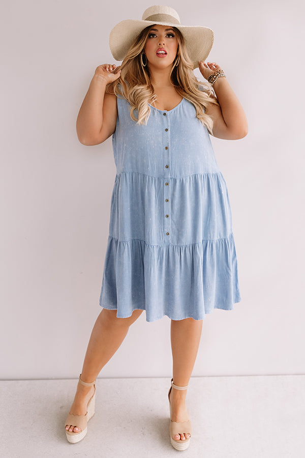 Seaside Views Babydoll Dress