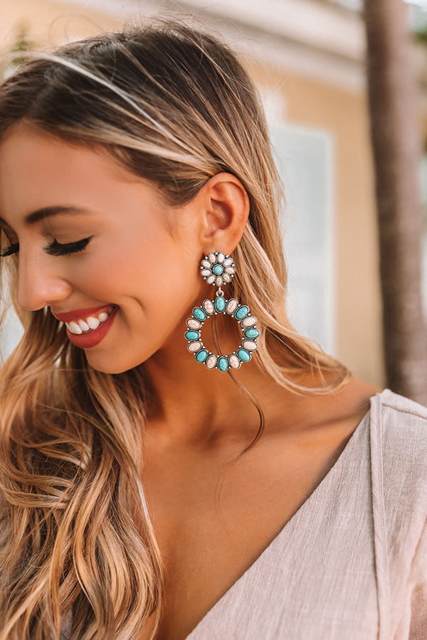 Hamptons Hideout Earrings in Ivory