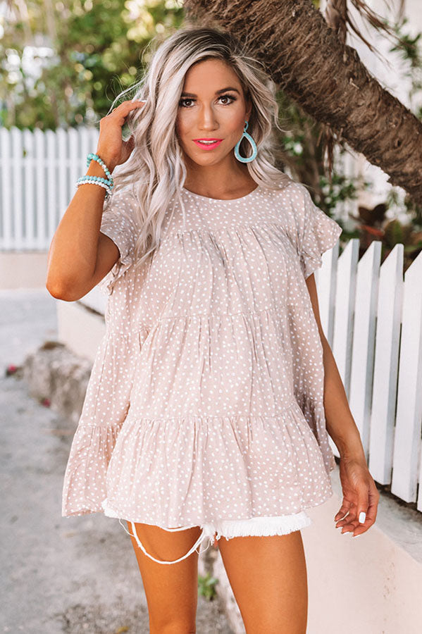Calm And Carefree Babydoll Top