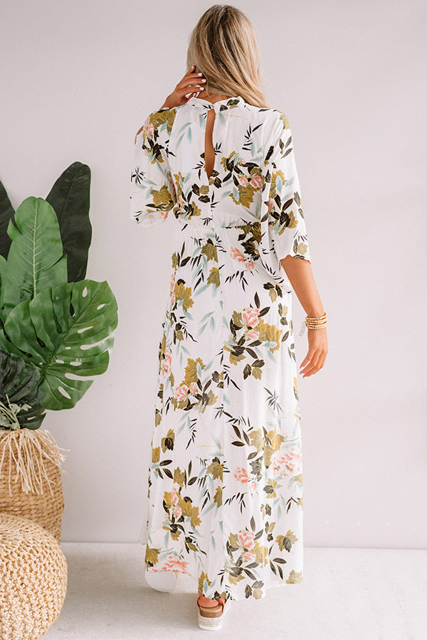 Tulum For Two Floral Maxi