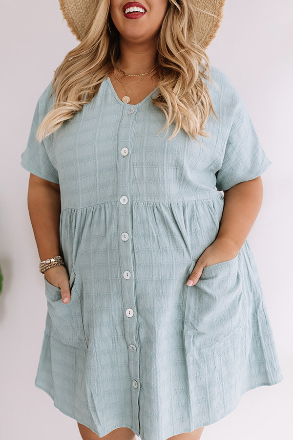 Grayton Beach Babydoll Tunic Dress in Island Paradise