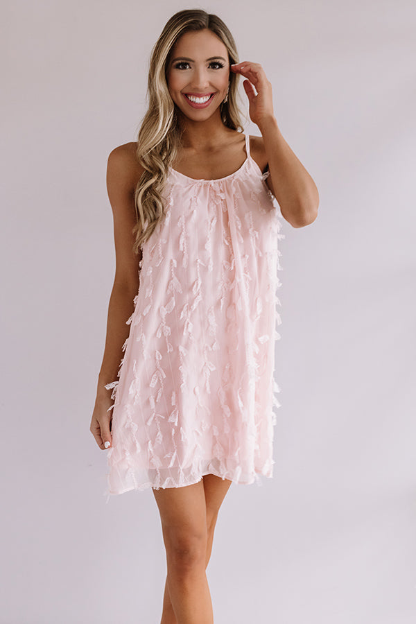 Tulum For Two Shift Dress in Pink