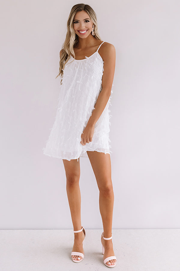 Tulum For Two Shift Dress in White