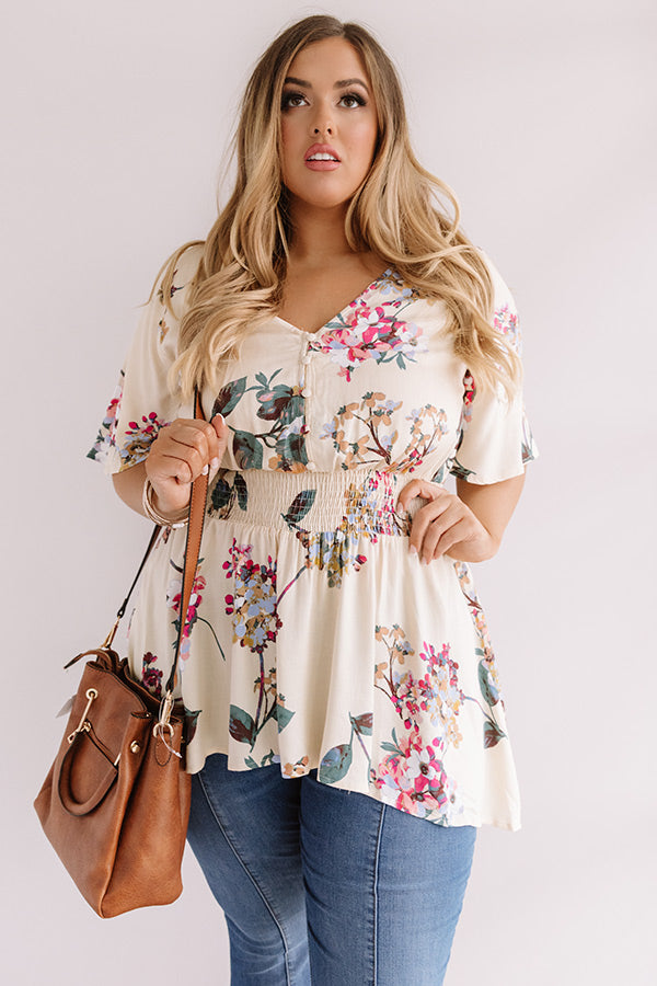 Cabo San Chic Floral Tunic
