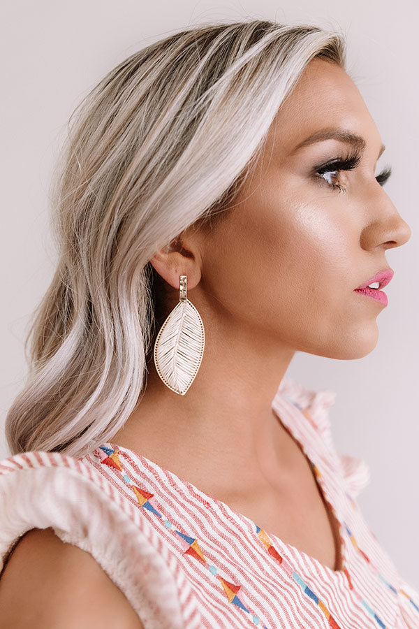 Chic Islander Earrings