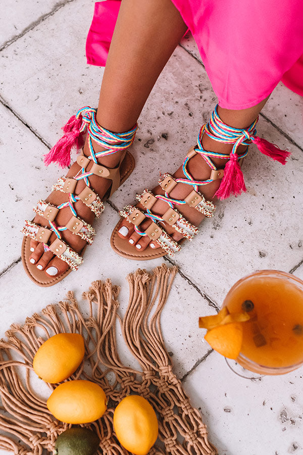Baja Beautiful Lace Up Sandal