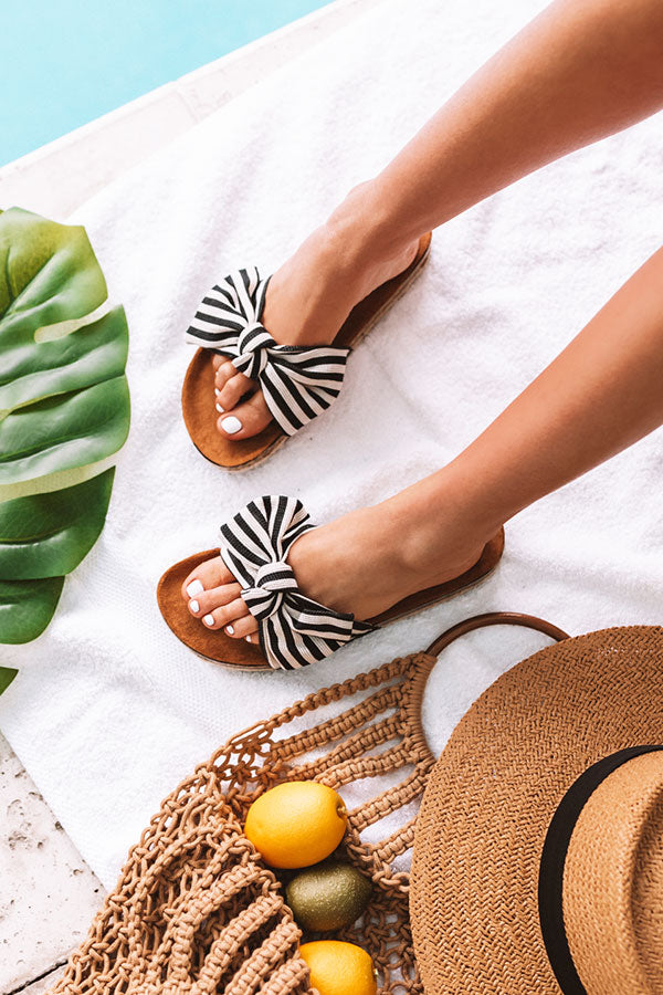 The Hannah Stripe Sandal
