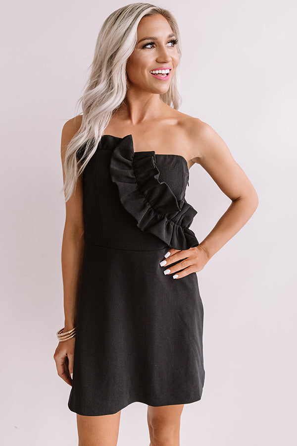 Crowd Pleaser Ruffle Romper