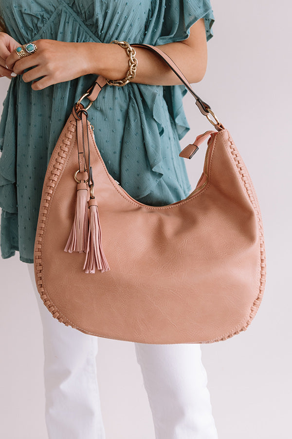 On Point Faux Leather Tote