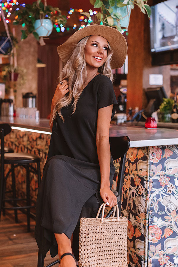 Margs In The Maldives Maxi In Black