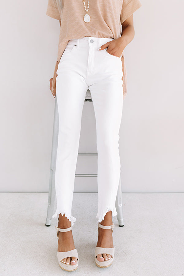 The Joanna High Waist Ankle Skinny