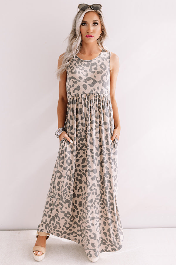 Love To Laugh Leopard Maxi