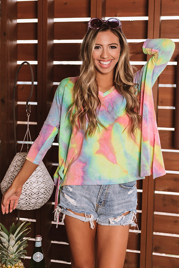 Sunsoaked Memories Tie Dye Sweatshirt