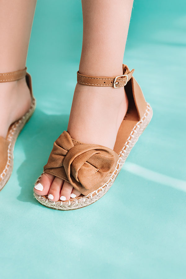 The Lucy Children's Sandal In Mocha