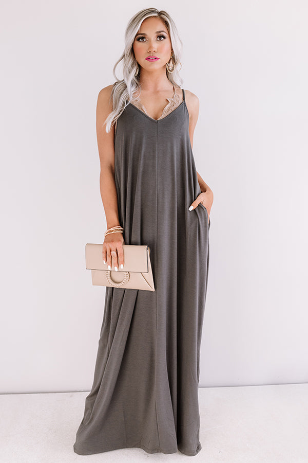 Tahiti Sweetie Maxi In Charcoal