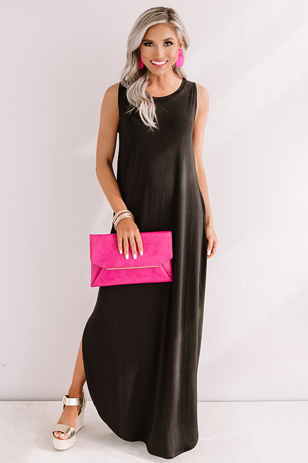 Pretty Prophecy Maxi In Black