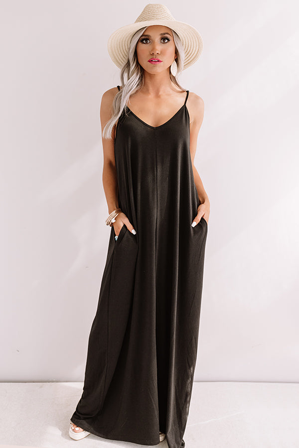 Tahiti Sweetie Maxi In Black