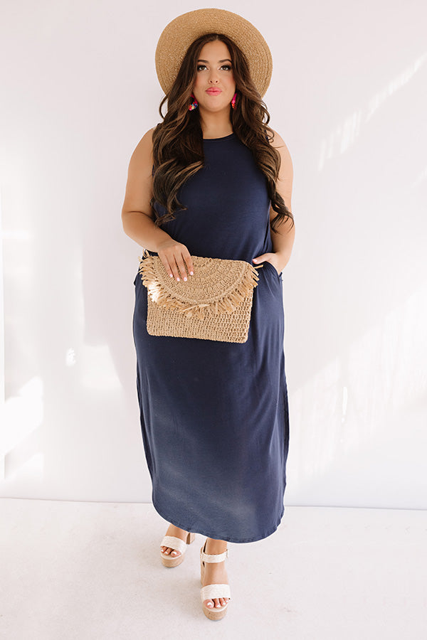 Pretty Prophecy Maxi In Navy