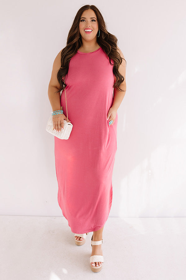 Pretty Prophecy Maxi In Rose