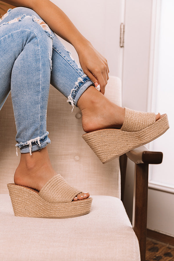 The Mckenna Jute Wedge