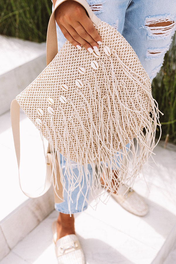 Coast Of Cabo Crossbody In Ivory