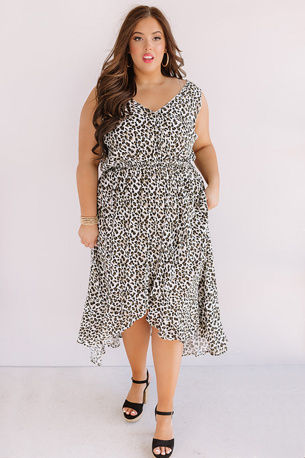 Hope And Happiness Leopard Midi