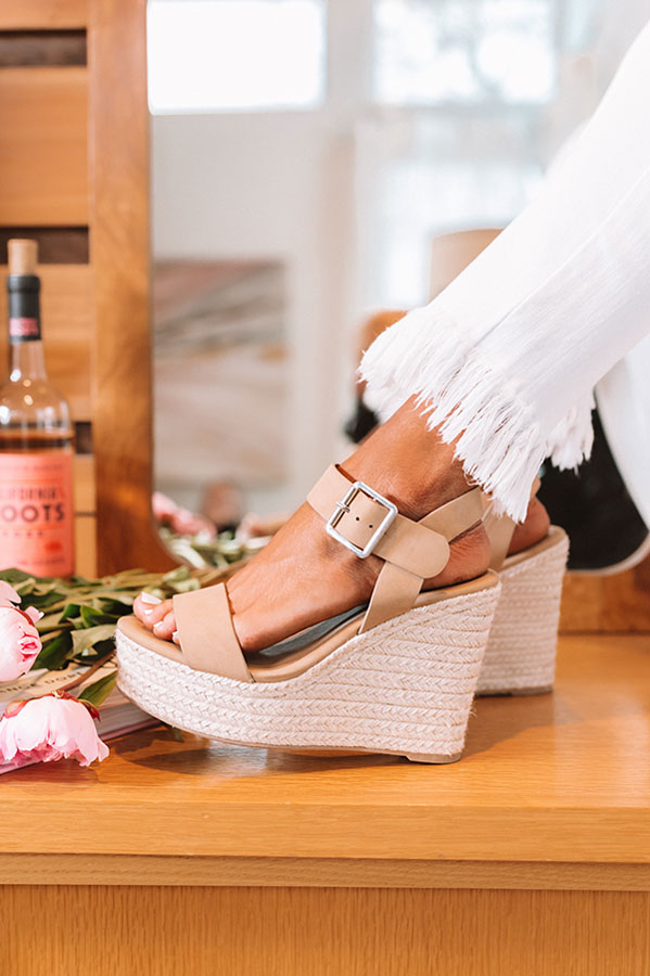 The Sydney Wedge In Tan