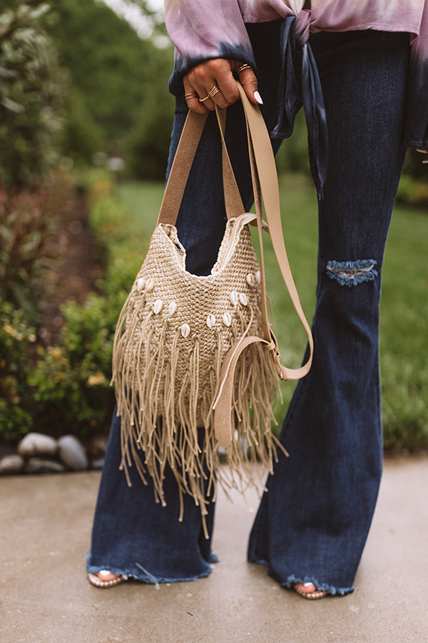 Coast Of Cabo Crossbody In Tan