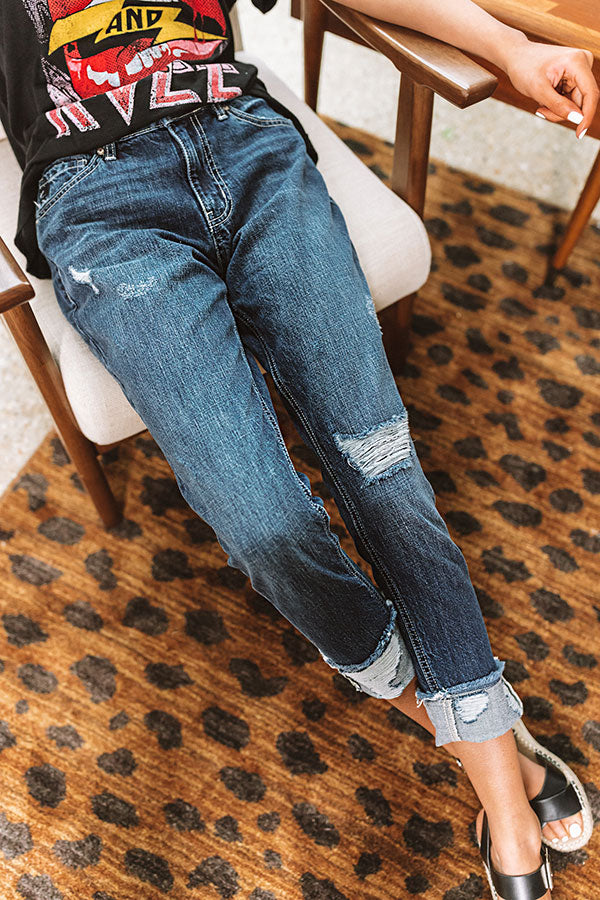 The Bay Distressed Relaxed Skinny