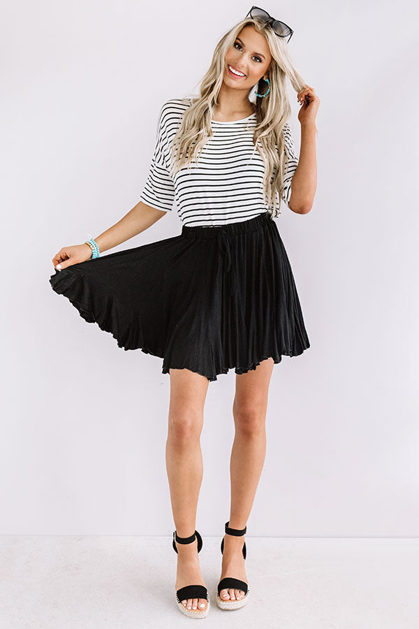 Made To Dance Skirt In Black