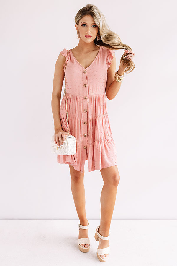 Finding Avalon Babydoll Dress In Blooming Dahlia