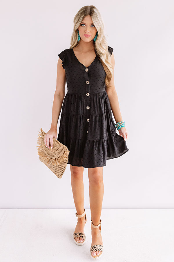 Finding Avalon Babydoll Dress In Black