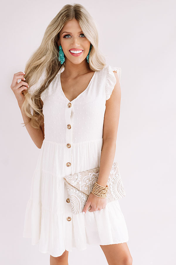 Finding Avalon Babydoll Dress In Ivory
