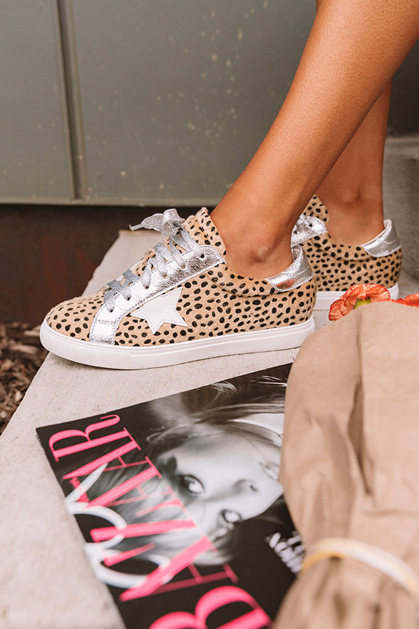 Shine Brighter Cheetah Print Sneaker