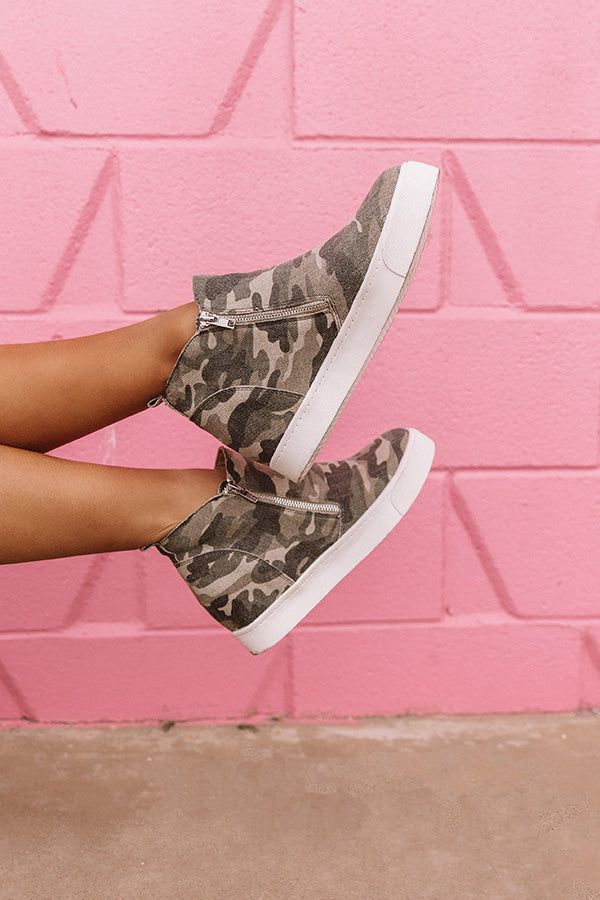 The Lexie Bootie In Camo