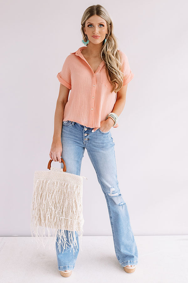 Some Like It Haute Button Down Top
