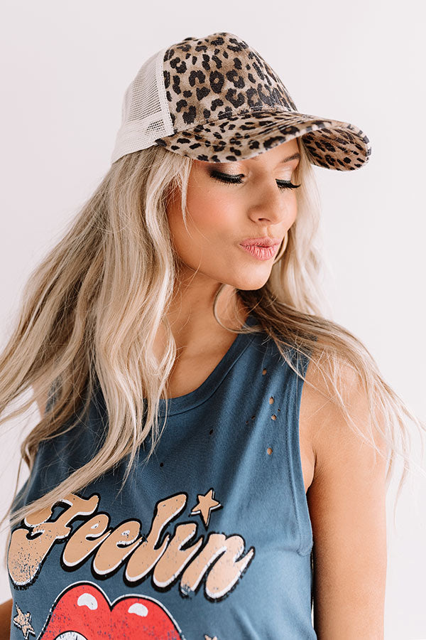 Style Session Leopard Baseball Cap