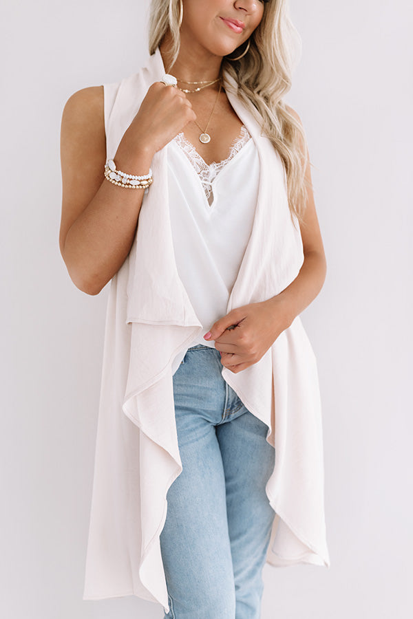 Paris Poise Cardi In Cream